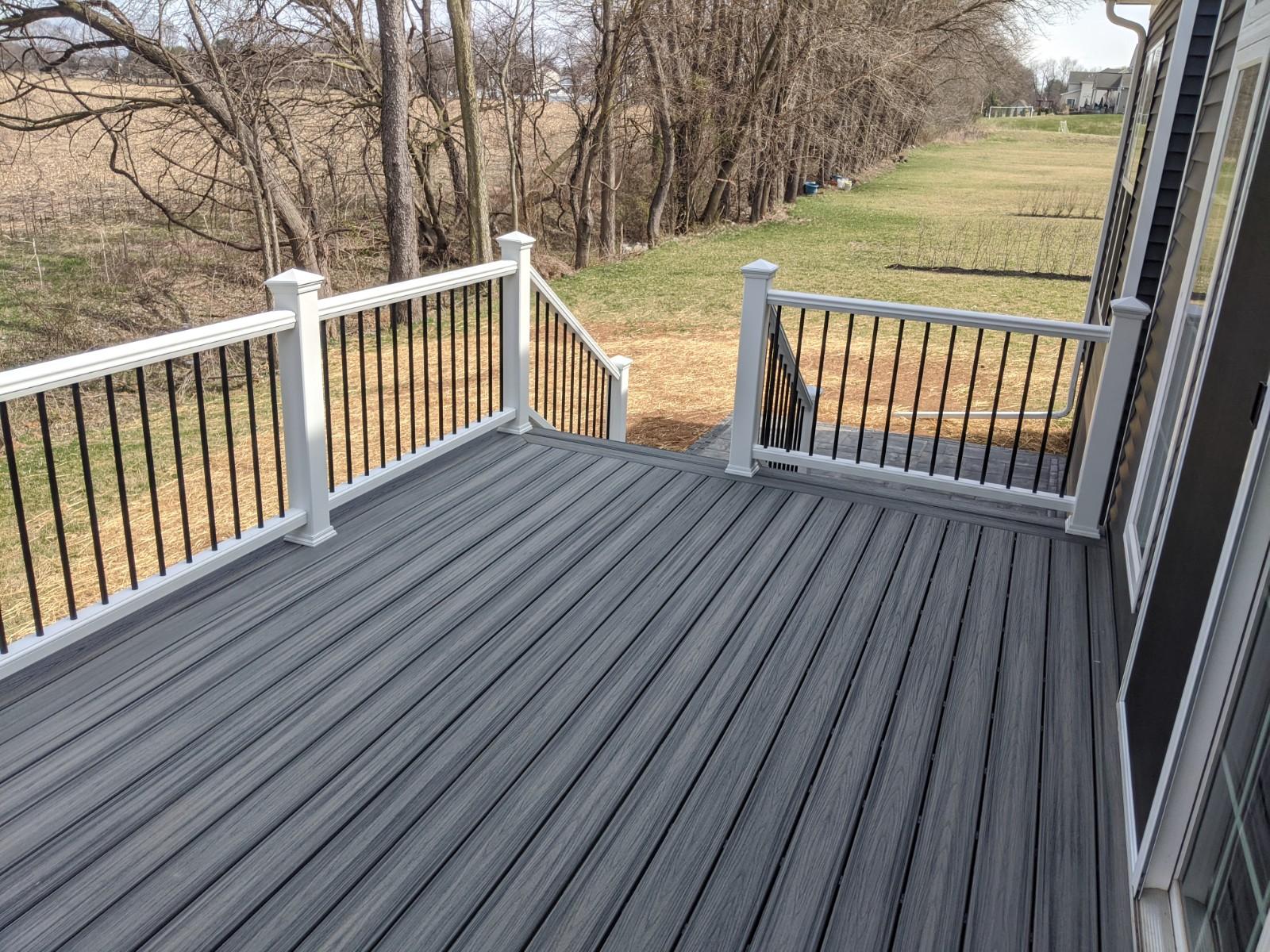 remodeled deck