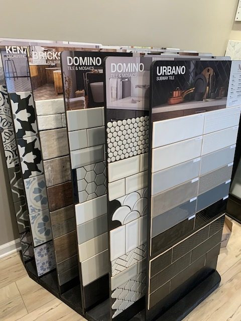 tile & mosaics dispaly